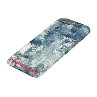 Blue Army Navy Air Force Camouflage iPhone 6 Case Barely There iPhone 6 Case