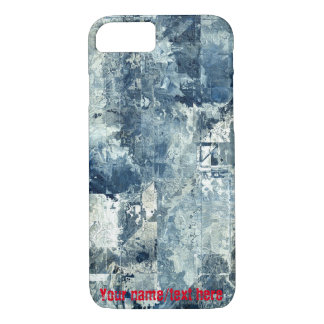 Blue Army Navy Air Force Camouflage iPhone 7 Case
