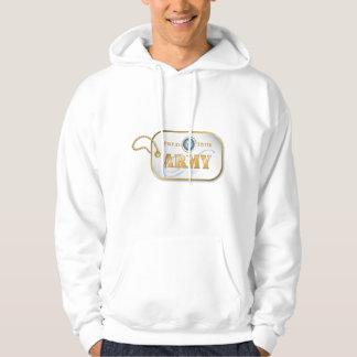 Blue Army Sister Dog Tag Sweatshirts