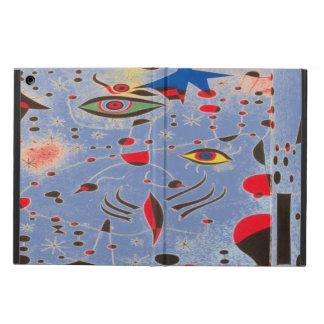 Blue art eyes  iPad Air Case with No Kickstand