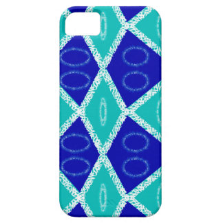 Blue artsy design iPhone 5 covers