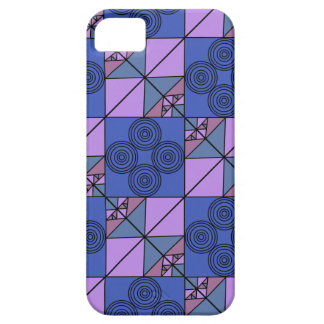 Blue artsy phonecase barely there iPhone 5 case