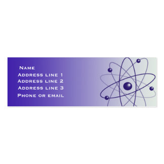 Blue Atom Business Card