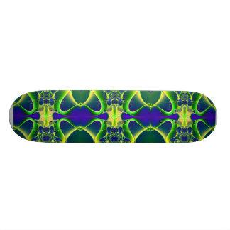 Blue Atom fractal Skateboard