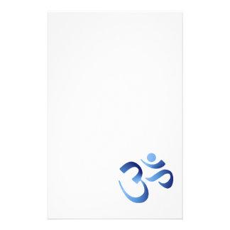 Blue Aum Customized Stationery