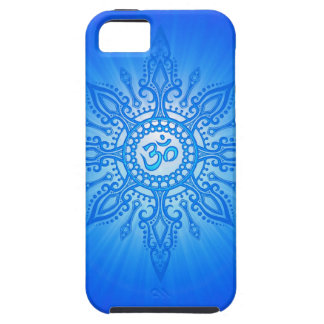 Blue Aum Star iPhone 5 Cases
