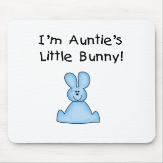 Blue Auntie s Little Bunny Tshirts and Gifts Mouse Pads