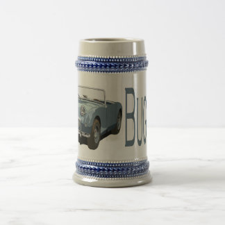 Blue Austin Healey Sprite Beer Stein