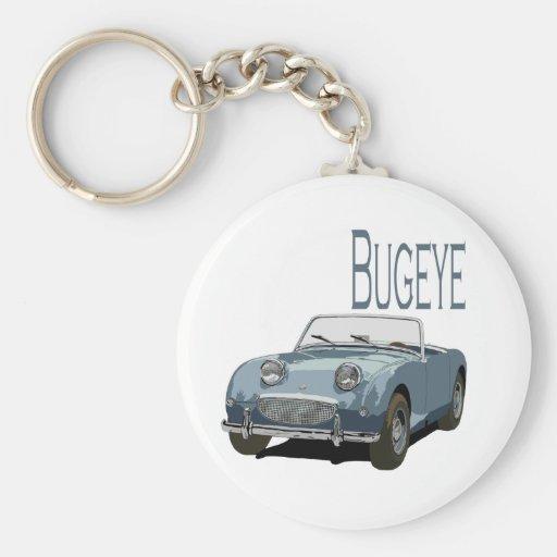 Blue Austin Healey Sprite Key Chain