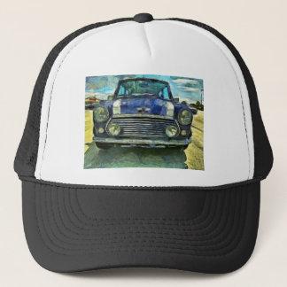 Blue Austin Mini Trucker Hat
