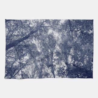 Blue Autumn Towels