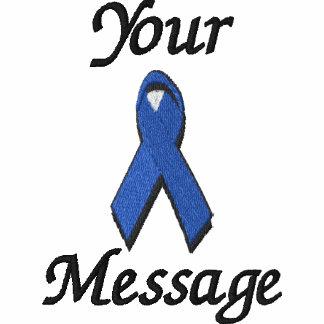Blue awareness ribbon - Customize