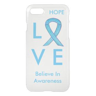Blue Awareness Ribbon iPhone 7 Cases