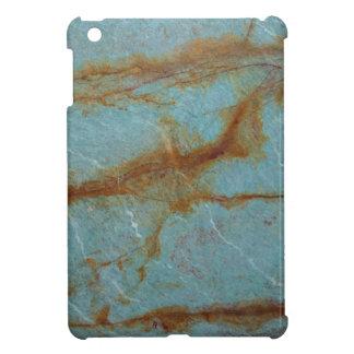 Blue Azure Marble iPad Mini Cases