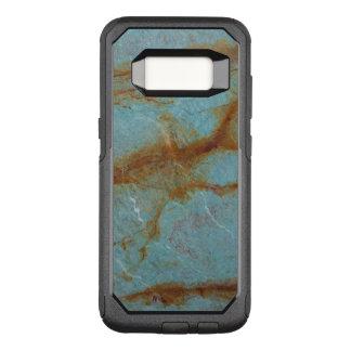 Blue Azure Marble OtterBox Commuter Samsung Galaxy S8 Case