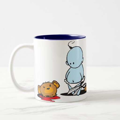 Blue Baby Coffee Mug