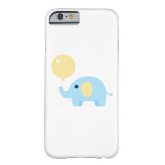 blue baby elephant with balloon barely there iPhone 6 case