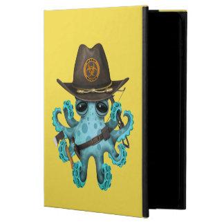 Blue Baby Octopus Zombie Hunter Powis iPad Air 2 Case