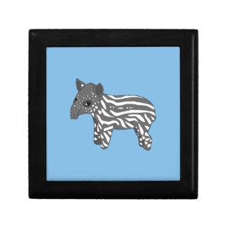 blue baby tapir gift box