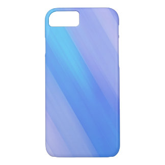 Blue Background Barely There iPhone 7 Cases