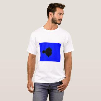 Blue Background Mandelbrot Fractal T-shirt