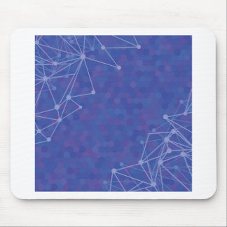 blue  background mouse pad