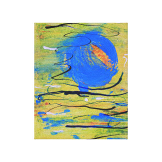 Blue Ball Canvas