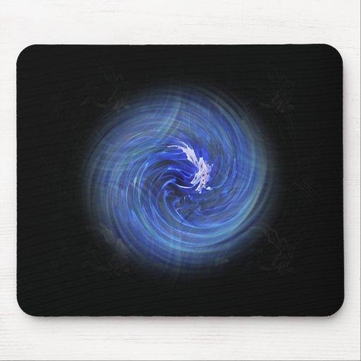 Blue Ball Of Energy Mousepad
