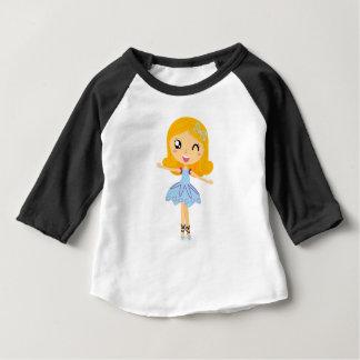 Blue ballerina Princess cute T-Shirts
