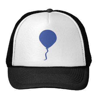 blue balloon mesh hat