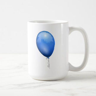 Blue Balloon Coffee Mugs