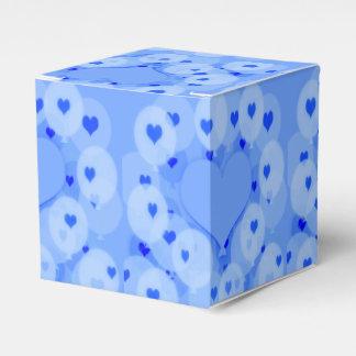 Blue Balloons Favour Box