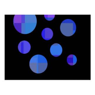 Blue balls postcard