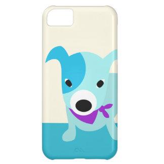 Blue Bandana Puppy iPhone 5C Case