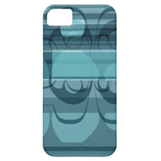Blue banner iPhone 5 cover