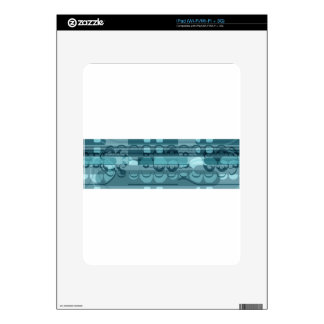Blue banner skin for iPad