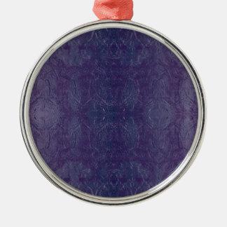 blue baroque metal ornament
