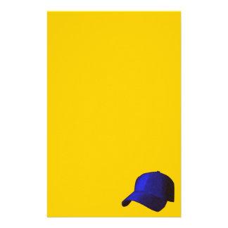 BLUE BASEBALL CAP GRAPHICS STATIONERY