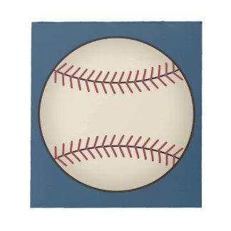 Blue Baseball Sports Office Men's Notepad Gift