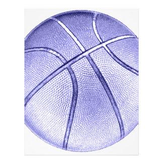 Blue Basketball Flyer Design