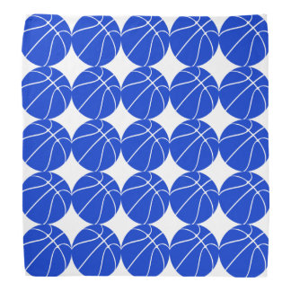 Blue Basketball Player or Team Bandana
