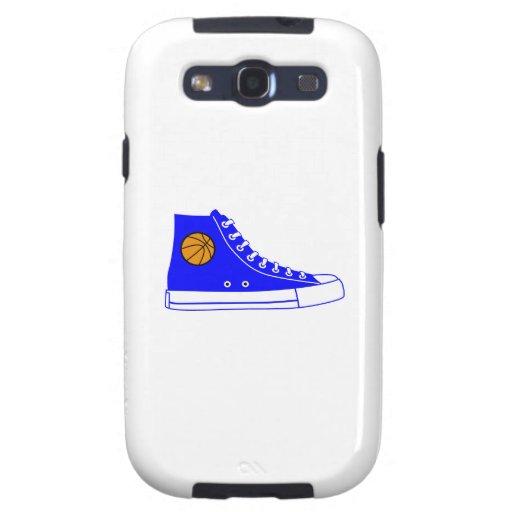Blue Basketball Sneaker Samsung Galaxy SIII Case