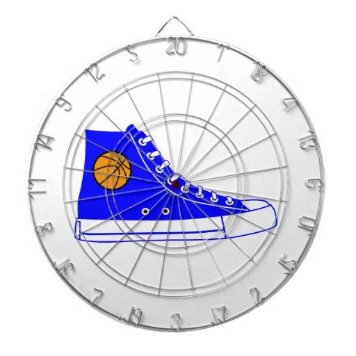 Blue Basketball Sneaker Dart Board