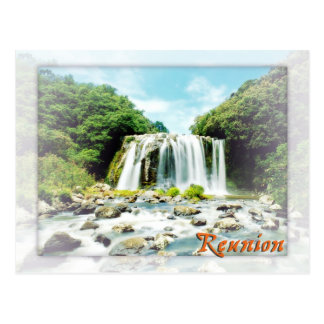 Blue Bassin, Reunion Postcard