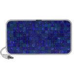 Blue Bathroom Tiles iPhone Speaker