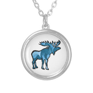 Blue Bayou Silver Plated Necklace