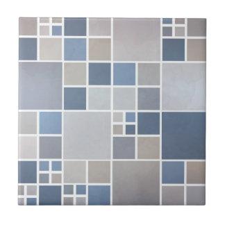 Blue Beach Mosaic Pattern Kitchen Bathroom Tile
