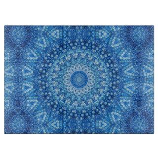 blue beads cutting board