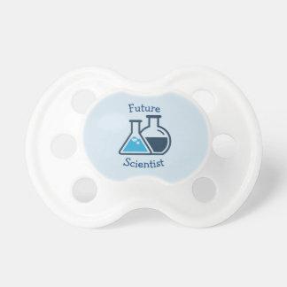Blue Beakers Science Chemistry Design Pacifier