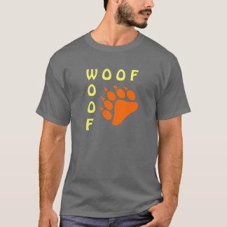 Blue Bear Paw Double Woof Gay Bear T-Shirt